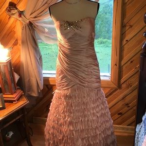 Clarissa pink prom or evening gown pink 10